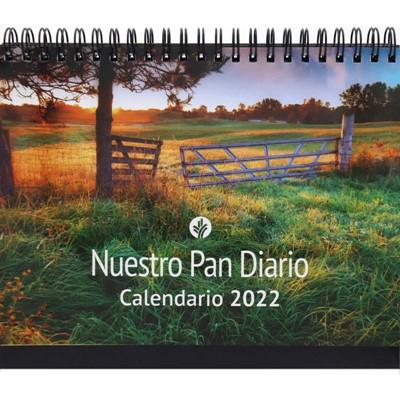 Calendario De Escritorio 2022 - Paisaje (rustica)