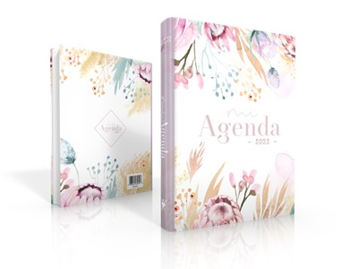 Agenda Elegance 2022 (Tapa Dura Flores Lila)