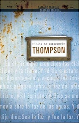 RVR 1960 Biblia Thompson Personal Tamaño Personal (Tapa Dura)