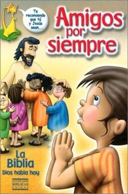 Biblia Amigos Por Siempre (Tapa Dura)