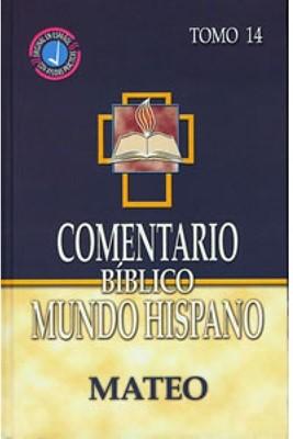 Comentario Biblico Mundo Hispano- Tomo 14 Mateo (Tapa dura) [Libro]