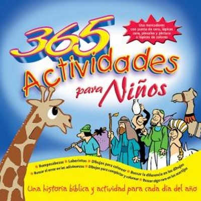 365 Actividades Para Niños (Rústica)