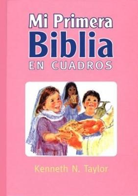 Mi Primera Biblia En Cuadros (Tapa Dura Rosa) [Biblia]