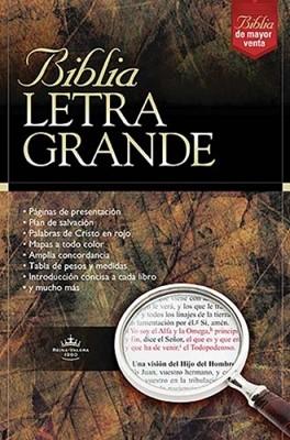 RVR1960 Biblia Letra Grande (Imitación Piel Negra) [Biblia]
