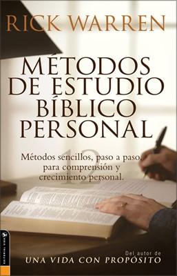 Métodos De Estudio Bíblico Personal (Rústica) [Libro]
