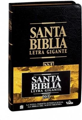 Biblia NVI Letra Gigante (Tapa Dura)