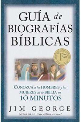 Guía De Biografías Bíblicas (Tapa Suave) [Libro]