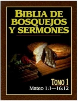 Biblia De Bosquejos Y Sermones: Mateo 1:1 - 16:12 (Rústica)