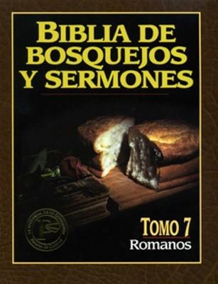 Biblia De Bosquejos Y Sermones: Romanos (Rústica)
