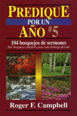 Predique Por Un Año #5 (Tapa Suave) [Libro]