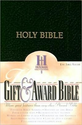 KJV Gift & Award Bible (Black Imitation Leather)