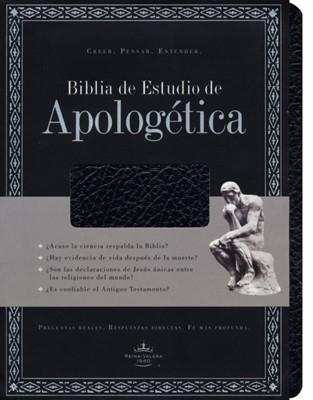 RVR 1960 Biblia De Estudio Apologética (Imitación Piel Negro )