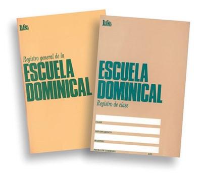 Registro de Clases de la Escuela Dominical (Rústica)