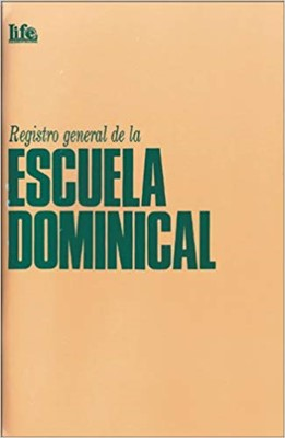 Registro General de Escuela Doninical (Rústica)