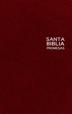 Biblia de Promesas NTV Edición Premio y Regalo (vino) (Imitación Piel) [Libro]