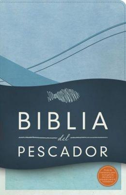 RVR 1960 Biblia Del Pescador (Imitación Piel especial, Azul Cobalto)