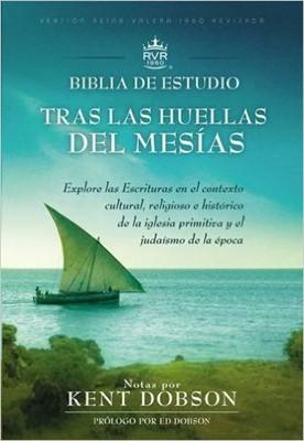 Biblia de estudio RVR60 Tras las huellas del Mesías (Tapa Dura) [Biblia de Estudio]