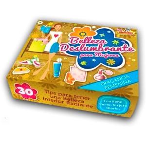 Caja de Promesas Belleza Deslumbrante (Cajita de cartón)