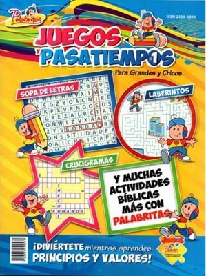 Revista Juegos Y Pasatiempos Palabritas