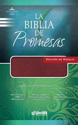 La Biblia de Promesas Edición de Regalo (Imitación Piel Vino)
