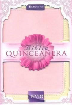 NVI Biblia para Quinceañera (Dos Tonos Rosada)