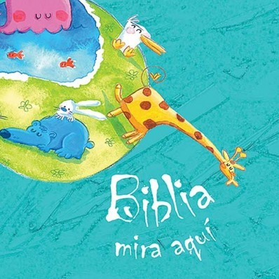 Biblia Mira Aquí (Tapa Dura) [Biblia]