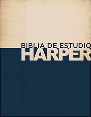 Biblia De Estudio Harper (Piel Italiana) [Biblia]
