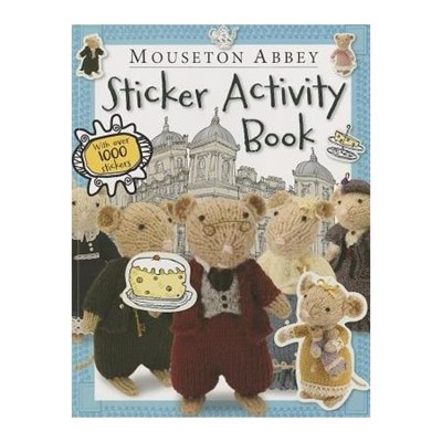 Mouseton Abbey Sticker Activity Book [Miscelanea]