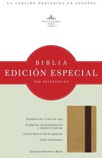 Biblia Edición Especial con Referencias (Oro/Marron Profundo Simil Piel) [Biblia]