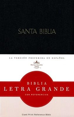 Biblia  Letra Grande con Referencia (Imitación Piel Negra) [Biblia]