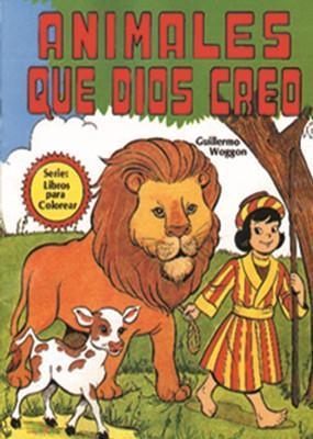 Libro de Colorear: Animales que Dios Creo (Rústica)