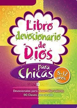 Libro devocionario de Dios para chicas (Rústica)