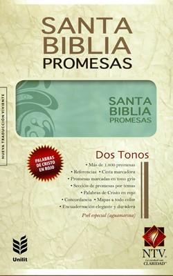 Biblia de Promesas (Piel Especial Floral) [Biblia]