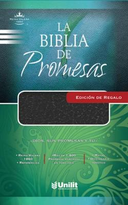 La Biblia de Promesas Edición de Regalo (Imitación Piel Negro)