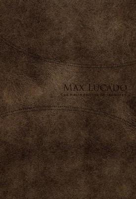 RVR 1960 Biblia de Promesas Max Lucado (Piel Especial, café)
