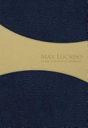 Biblia RVR De Promesas Max Lucado - Edición Hombres (Piel Especial Azul/Crema) [Biblia]