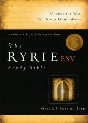 Biblia de Estudio  English Standard Version Ryie