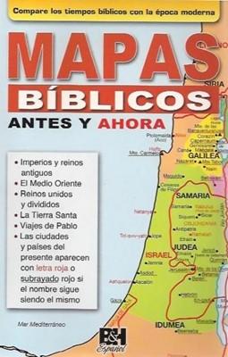 Mapas Bíblicos: Antes y Ahora (Rústica)