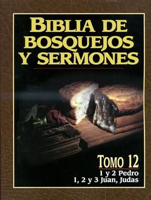 Biblia De Bosquejos Y Sermones: 1 y 2 Pedro/1, 2 y 3 Juan/Judas (Rústica)