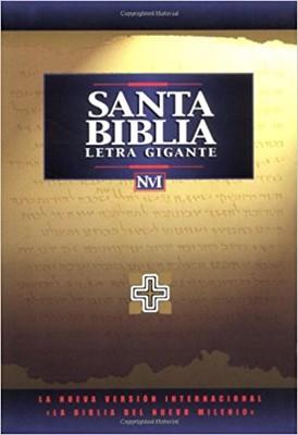 Biblia Letra Gigante NVI Negro (Imitación Piel)