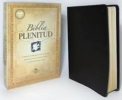 RVR 1960 Biblia de Estudio Plenitud (Piel Elaborada Negra)