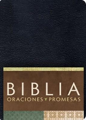 Biblia RVC Oraciones y Promesas (Imitación Piel Negra) [Biblia]
