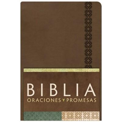 Biblia/RVC/Oraciones Y Promesas/Imitacion/Indice/Canela (Imitación Piel)