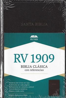 RVR 1909 Biblia de Referencia (Imitación Piel Negra)