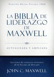 Biblia De Liderazgo De Maxwell RVR Piel Italiana (Actualizada y Ampliada)