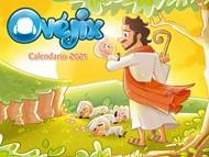 Calendario Infantil De Pared-Ovejix 2021