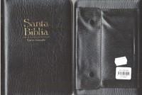 Santa Biblia-Rvr 1960-Letra Grande Zipper (Imitación Piel Vinil Gris)