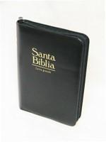 RVR1960 Biblia con Concordancia y Zíper (Imitación Vinil Negro)