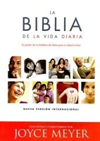 RVR 1960 Biblia Vida Diaria - Joyce Meyer (Piel)