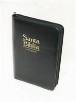 Biblia Letra Grande con cierre Negro (Imitación)